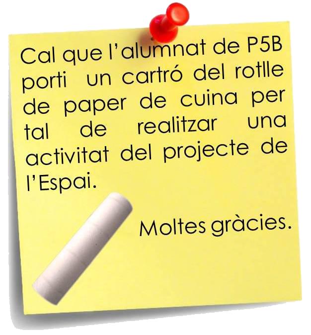 nota P5B